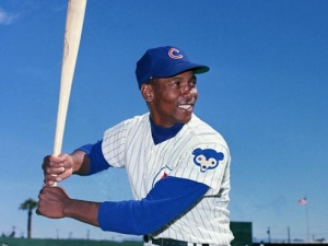 Ernie Banks as I will always remember him.