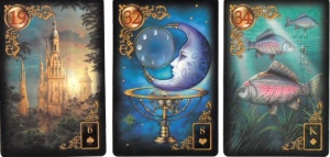 Gilded Reverie Lenormand, copyright Ciro Marchetti, 2012