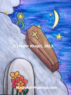 Coffin (C) Nefer Khepri, 2013
