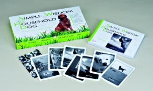 Simple Wisdom of the Household Dog, card + book set.