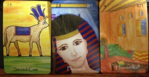 The Egyptian Lenormand.  (C) Nefer Khepri, 2013.