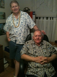 My husband & father-in-law.