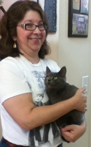 Bluestar's first day at home: June 1, 2013.