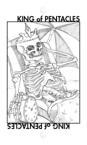 Healing Tarot: King of Pentacles.