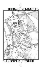 Healing Tarot: King of Pentacles.