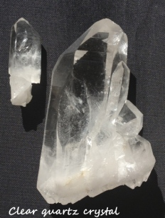 Clear Quartz Crystal.