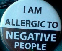 allergic to neg people
