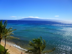 Hotel ocean view on Maui