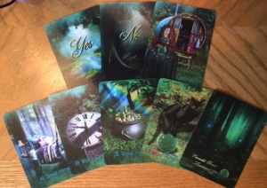 The Emerald Forest Lenormand (C) Tarot Lyn & MoonGypsy, 2014: Extra cards.