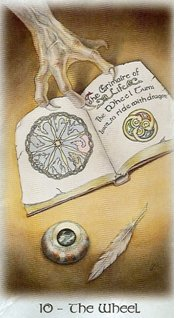 The Wheel of Fortune, (C) Lisa Hunt & Llewellyn Publishing, 1999.