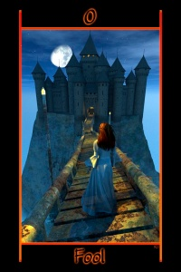 Image including a castle & the nighttime sky. Copyright Richard Shadowfox & Schiffer Books, 2014.