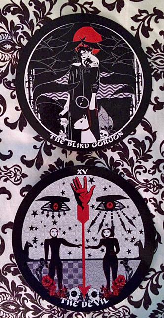 The Devil Tarot Card Cats Eye Deck