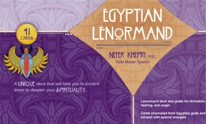 The Egyptian Lenormand, box lid.