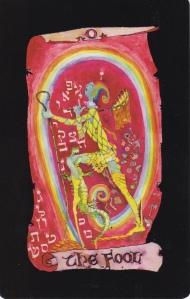 The Fool, Kabbalistic Visions Tarot by Marco Marini & Luigi Scapini. (C) Marini, Scapini & Schiffer Books, 2014.