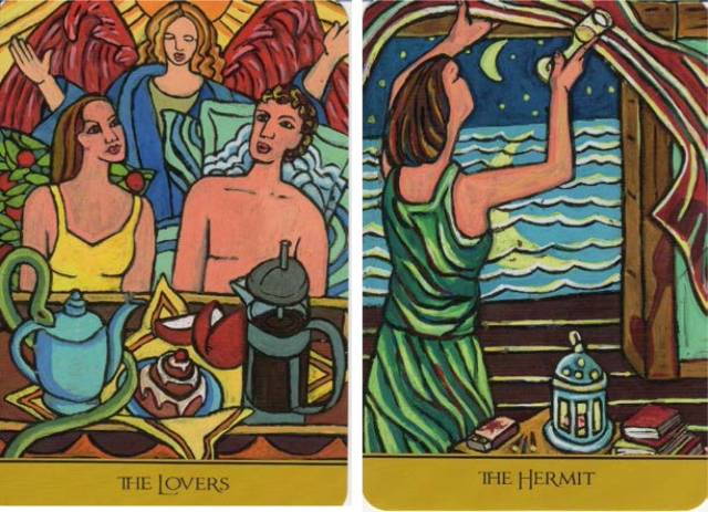 The Lovers & Hermit, from