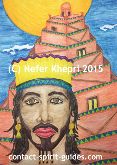 Serapis Bey, for Meagan. Copyright Nefer Khepri, 2015.