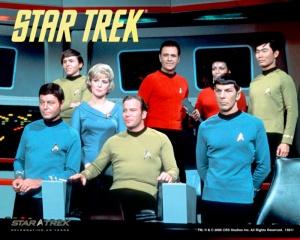 The Cast of the original Star Trek series.