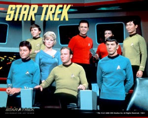 The Cast of the original Star Trek series.