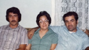 Uncle Gilbert & my parents ca. 1976.