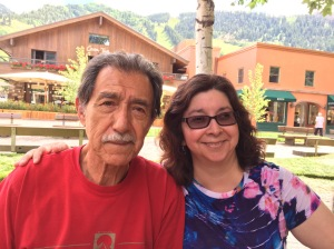 Uncle Gilbert & I. Aspen, Colorado. 2015.