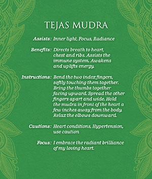 mudras brilliance back