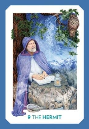 Gaian Tarot - Hermit