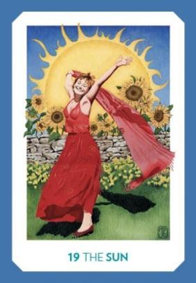 Gaian Tarot - Sun
