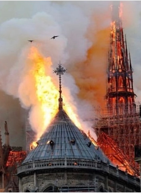 Notre Dame Fire: Faces of Good & Evil
